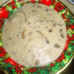 Simple Mushroom Sauce for Steaks