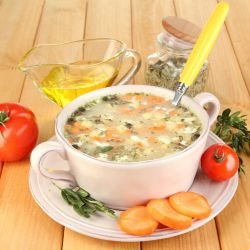 Fancy Vegetable Soup