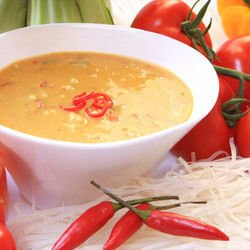 Soup with Roasted Peppers