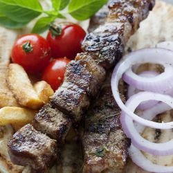 Souvlaki - Greek-Style Lamb Skewers