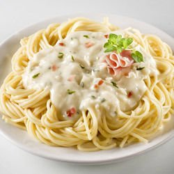 Spaghetti with Cheese Sauce