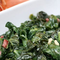 Frozen Spinach Salad