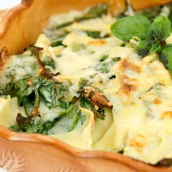Spicy Potato Bake with Spinach