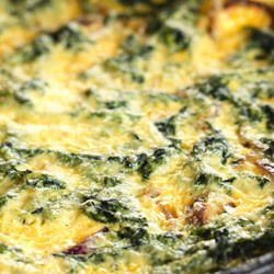 Spinach with Rice and Cheese