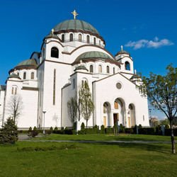 Beaufort Castle - Saint Sava Cathedral