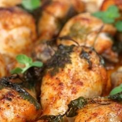 Savory Stuffed Chicken Drumsticks