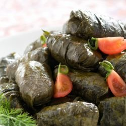 Goat's Cheese in Vine Leaves