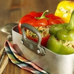 Stuffed Peppers with Einkorn