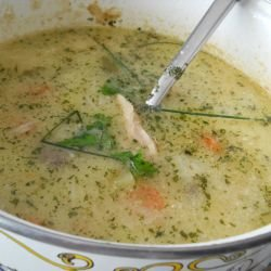 Free-Range Chicken Soup