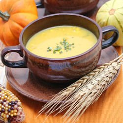 Pumpkin and Avocado Soup