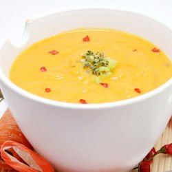 Soup with Zucchini and Carrots