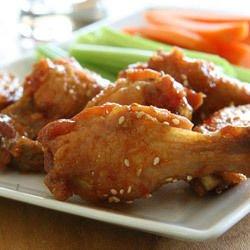 Chicken Drumsticks with Sesame