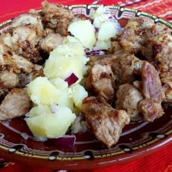 Pork with Onions