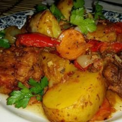 Pork with Veggies and Lots of Spices