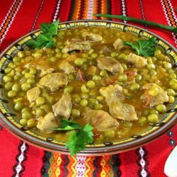 Pork with Peas
