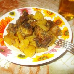 Classic Pork with Potatoes