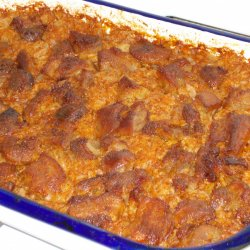 Sauerkraut with Pork in the Oven