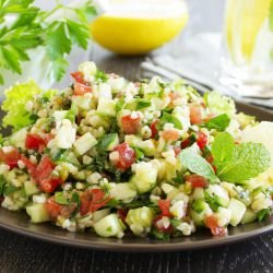 Tabbouleh with Zucchini