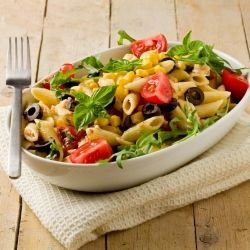 Pasta With Cherry Tomatoes And Tuna