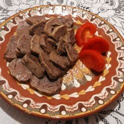 Aromatic Veal Tongue in Butter