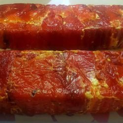 Terrine with Peppers and Feta Cheese
