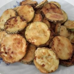Greek-Style Fried Zucchini