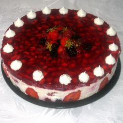 Fruit Delight Parfait Cake