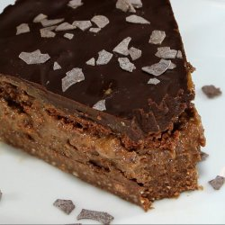 Chocolate Cake with Mocha Cream