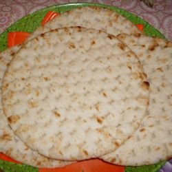 Plain Flatbread without Yeast