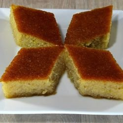 Greek Dessert with Semolina