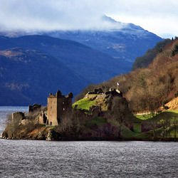 Baroque palace - Urquhart Castle