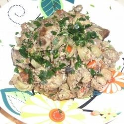 Delicious Chicken Livers