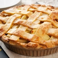 Walnut-Apple Pie