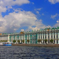 Hermitage -  Winter Palace in Saint Petersburg