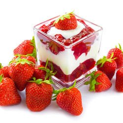 Cream with Fruit