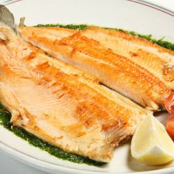Fish with Parsley Sauce
