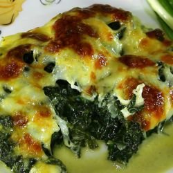 Oven-Baked Spinach