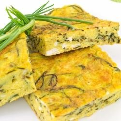 Frittata with Cheese and Onions