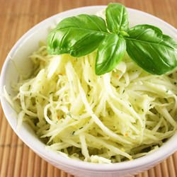 Fresh Cabbage and Garlic Salad