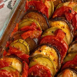 Delicious Baked Vegetables