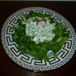 Spring Salad with Yoghurt