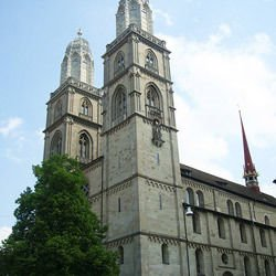 Churches, Cathedrals and Temples -  Grossmünster