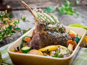 The Most Delicious Lamb and Most Appetizing Fish