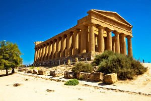 Temple in Agrigento
