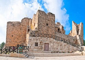 Ajloun Fortress in Jordan