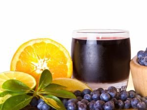 Blueberry Syrup with Lemon