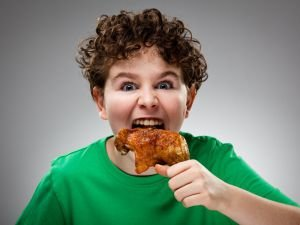 Chicken Drumsticks are Responsible for the Aggression in Children