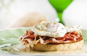 Eggs Benedict Sandwiches