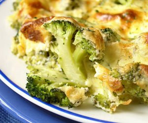 Broccoli with Cottage Cheese