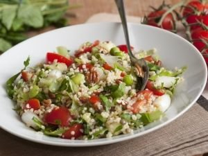 Salad with Bulgur